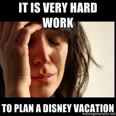 First World Disney Problems