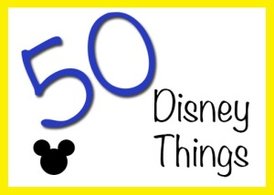 50 Disney Things