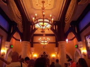 Inside Fairytale Princess Hall