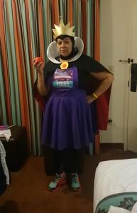 My Evil Queen Running Costume