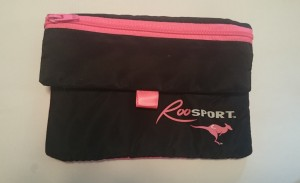 The RooSport magnetic running pocket that I purchased at the expo. Well worth it for me!